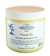 Palm oil, Soap making supplies. Organic, Sustainable 16 fl oz. DIY projects.