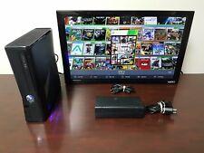 RGH XBOX 360 Slim - 250GB HDD - Mod Menus – Pink & Blue LEDs - JTAG – WiFI Only!