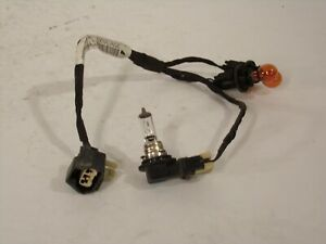 07 08 09 10 SATURN OUTLOOK TURN FOG LIGHT BULB SOCKET WIRING HARNESS  Sh793