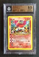 Pokemon Beckett 9.5 Ho-oh Holo 1st Ed. - Neo Revelation #7/64 Gem Mint