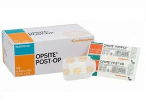 Opsite Post Op - Waterproof Absorbent - Wound Dressings Sterile - Cuts & Wounds