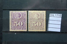 STAMPS OLD CHILE 1878 YVERT N. 30+ 30A MH*  (ROS1710