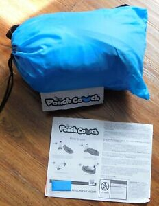 The official pouch couch, inflatable couch, outside furniture