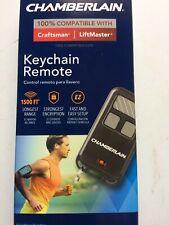 (NEW) Chamberlain Three-Button Keychain Garage Door Remote (Model# 956EV-P2)
