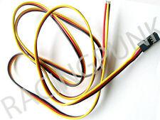 900mm 90cm RC Receiver micro standard Servo Lead Wire HITEC Connector male Plug