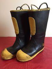 Ranger Firewalker Firefighter Footwear Mens Shoe-Fit Boots SZ 10 1/2 W Steel Toe