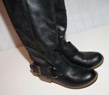 Women's size 6 black long boots