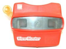 VINTAGE Red 3D View-Master Viewer Made in The United States Good Condition