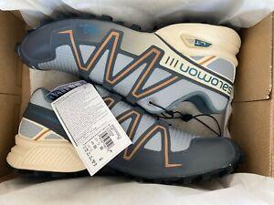 Salomon Speedcross 3 US size 12 quarry / ebony / bleached sand Limited Edition