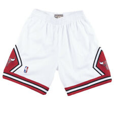 Mitchell And Ness Chicago Bulls shorts 97-98 Mens LARGE White 100% Authentic NWT