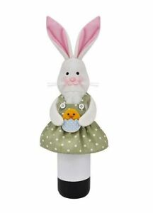 Celebrate Easter Together Bunny Wine Bottle Cover - NWT ~ fun hostess gift