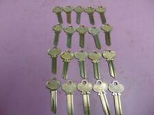 20 keys Lockwood A1015W Keys Blanks Uncut Locksmith