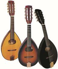 Mandoline, Flachbauch-in zwei Modellen NATUR oder SUNBURST, mit TASCHE !n