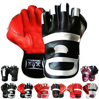 Leather Wicket Keeping Gloves Wicket Keepers Gloves BOYS, YOUTH, MENS