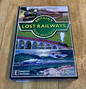 Britain's Most Beautiful Lost Railways 3 DVD Set ALL REGIONS - Reader's Digest