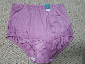 Style 1232 Size 8-3 Pk Lace Front NWOT USA Made Pink Nylon