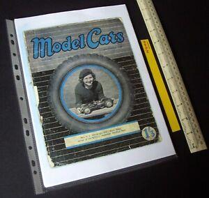 """1946/1980s """"Model Cars"""" Mag V1#2 RTP Rail & Track Ivan Prior Desktop Copy. N404"""