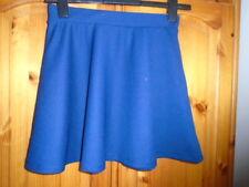 Dark blue textured skater skirt, ATMOSPHERE, size 10, length 16 inches