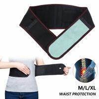 Support taille magnétique auto-chauffant sangle ceinture thérapie soulagement SH
