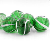 U054 2 Sea Glass Beads Cultured Concave Square Shape with Drilled Hole