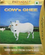 Patanjali Cow's Desi Ghee 500 gm /100% Pure AYURVED By Baba Ramdev