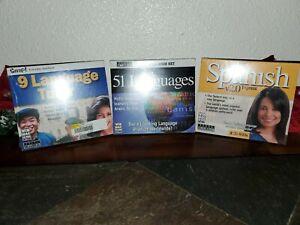 SNAP! LANGUAGE TUTOR - 9 Languages! CD-ROM,2001 Version & 51 Languages TOPICS ++