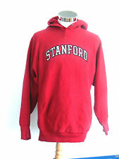 STANFORD UNIVERSITY HOODIE, RED, SIZE MEDIUM