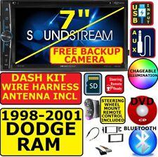98-01 DODGE RAM BLUETOOTH CD/DVD USB AUX CAR RADIO STEREO PKG W/ FREE BACKUP CAM