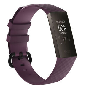 For Fitbit Charge 3 Wrist Straps Wristband Replacement Accessory Watch Band B HB