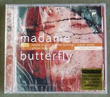 2CD Puccini Madame Butterfly Scotto Domingo Wixell POL Maazel Sony 2003 neu ovp