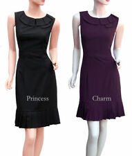 Knee Length Polyester Plus Size Dresses for Women