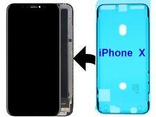 Pour iPhone X Adhésif Joint D' étanchéité Waterproof  pour Vitre Ecran LCD Noir