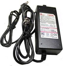 36 Volt, 2.0 amp Charger 3-Port In Round plug for electric scooters, pocket bike
