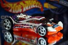 2002 Hot Wheels Planet Hot Wheels.com Particle energy car Vulture white