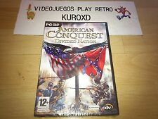 PC AMERICAN CONQUEST DIVIDED NATION PRECINTADO NUEVO PAL ESPAÑA