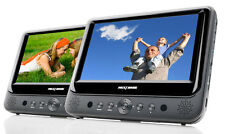 "NextBase SDV49-AC Twin 9"" Screen Full In-Car & Portable DVD Players with USB/SD"