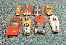 Aurora Ho Slot Car Model Motoring T-Jet Racer Bodies 1960 - 70's 8 Total