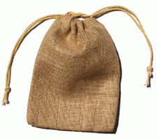 """Burlap Bags w/ Draw String Small Approximately 3"""" x 5"""""""