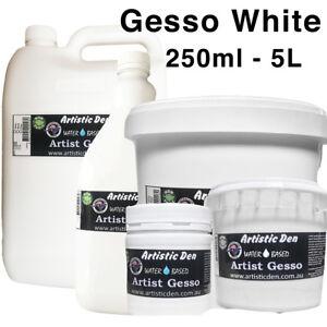 Artist White Gesso Primer Canvas Gesso 500-5L White Canvas Primer Craft Primer