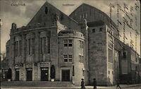 Osnabrück Niedersachsen Ansichtskarte 1920 Partie am Eingang zum Stadtheater