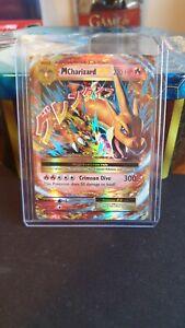"Mega M Charizard EX 13/108 Ultra Rare Evolutions Pokemon Card ""MINT"""