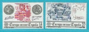 Spanien Europa CEPT 1982 ** postfrisch MiNr. 2545-2546 Historische Ereignisse