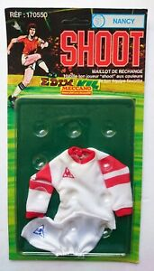 Shoot Meccano Football outfit FC Nancy French side. For Action Man figures 1978