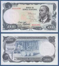 EQUATORIAL GUINEA 5000 Bipkwele 1979  UNC  P. 17