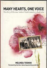 MANY HEARTS, ONE VOICE (War Widows Guild WA) Melinda Tognini NEW 1st Ed 2015