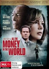ALL THE MONEY IN THE WORLD (DVD, 2018) [BRAND NEW & SEALED]