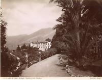 Italie, lac de Côme, lago di Como, Bellagio, giardino e villa Serbelloni  Vintag