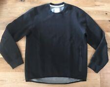 Nike Mens Tech Fleece Sweatshirt Crew Neck Jumper Top Black Size Large New
