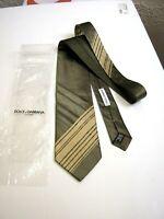 Dolce & Gabbana New Original 100% Silk . Made IN Italy