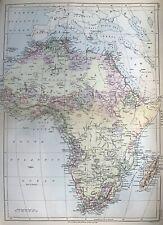 Africa - Afrika - l´Afrique - Kolonien - colonies - Encyclopaedia Britannica